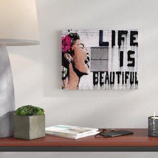 Life Is Beautiful Wall Art Wayfair