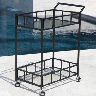 Marra Outdoor Bar Serving Cart