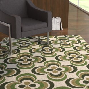 Best Mraz Olive Green/Moss Area Rug By Ebern Designs
