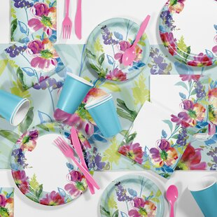 Painterly Floral Tableware Set