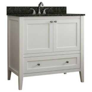 Inexpensive Vanguard 36 Single Bathroom Vanity Base Only By CNC Cabinetry