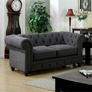 Flounder Chesterfield Loveseat