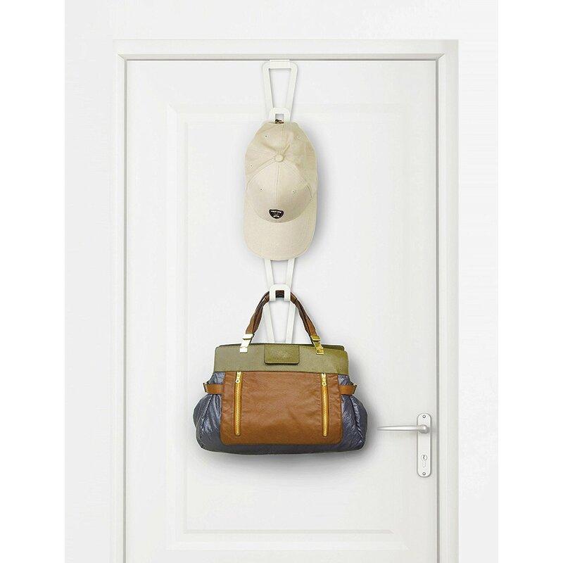 Rebrilliant Hanging Closet Rod Or Over The Door Organizer Rack Hook