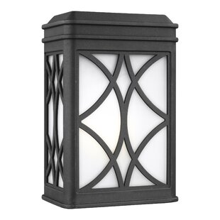 Alena Outdoor Flush Mount by Charlton Home New