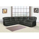 Bartucca 92 Faux Leather Symmetrical Reclining Corner Sectional by Red Barrel Studio®