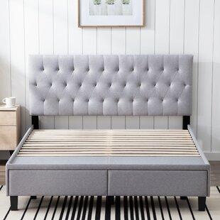 Aslef King Upholstered Bed Wayfair
