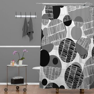 Rachael Taylor Textured Geo Shower Curtain by Deny Designs