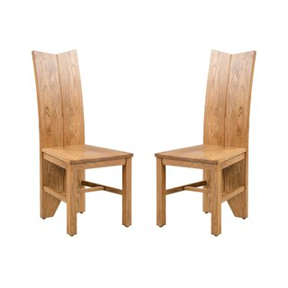 Alicia Solid Wood Dining Chair (Set of 2) by Foundry Select SKU:AE927893 Guide