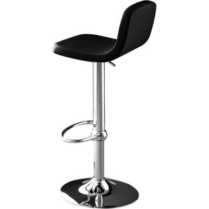 Joe Adjustable Height Swivel Bar Stool by Connubia