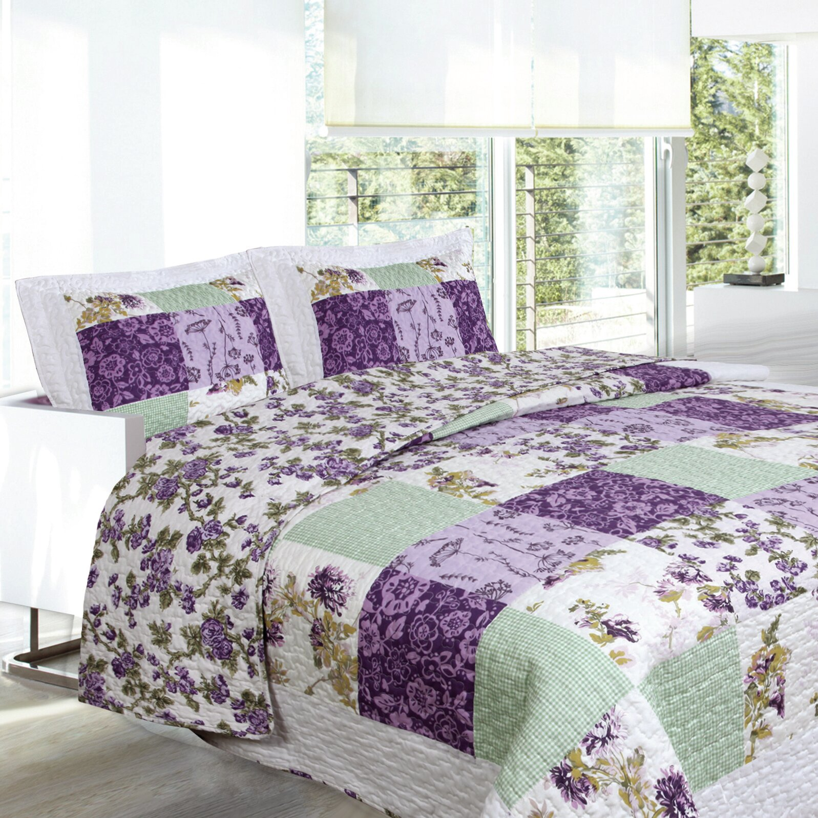 A keletnemet lanyok eneke   made in hungaria 457 - Bed Sheet Set With Quilt Lauren Taylor Quilt Set