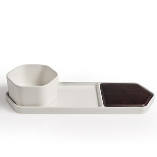 Urban Story 3 Piece Divided Serving Dish Set