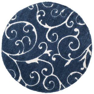 Alison Light Blue/Cream Area Rug by Three Posts