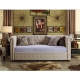 Bannruod Chesterfield Twin Daybed by House of Hampton®