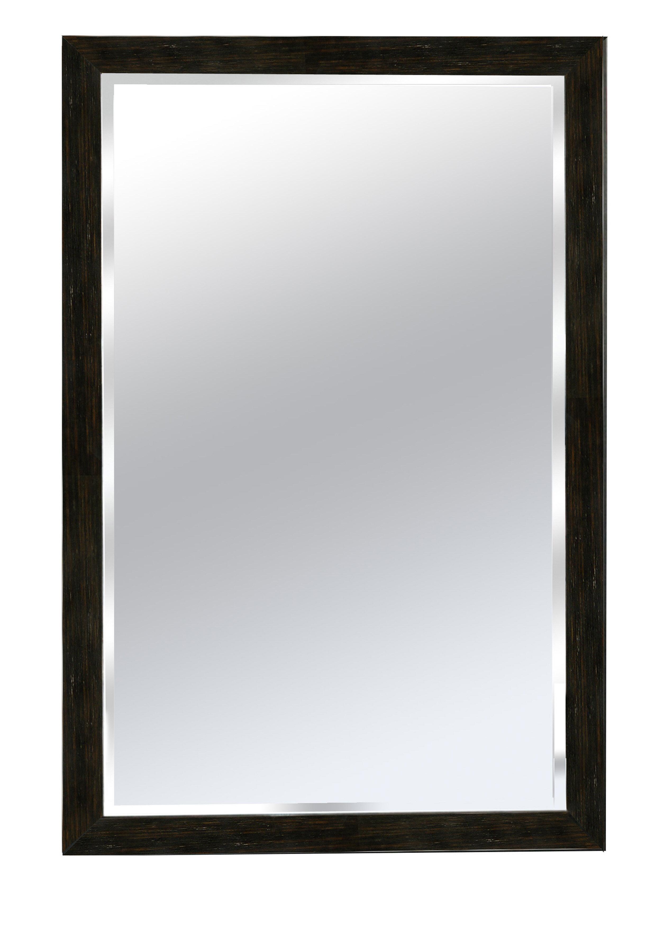Winston Porter Cocopah Wood Framed Bathroom Wall Mirror Reviews Wayfair