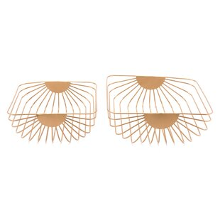 Jessalyn 2 Piece Wired Basket Set By Gracie Oaks