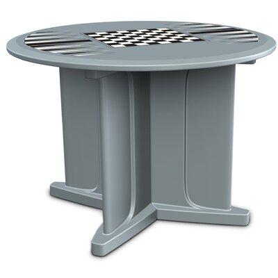 "29"" Endurance Chess & Backgammon Table Cortech USA Color: Blue/Gray"