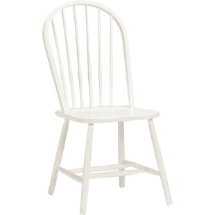 Bonneau Solid Wood Dining Chair by Harriet Bee Coupon