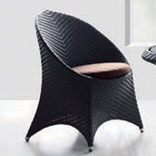 Party Patio Dining Chair with Cushion
