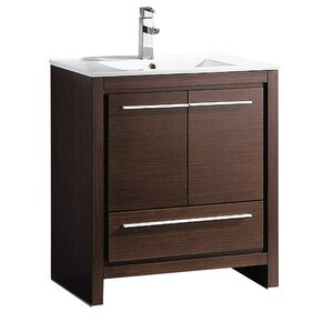 bathroom vanities with sinks. Allier 30  Single Bathroom Vanity Set Modern Vanities Cabinets AllModern