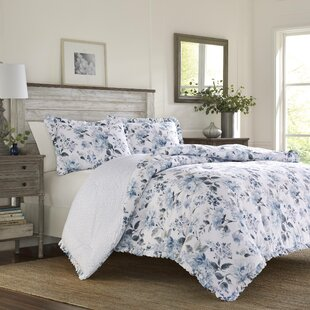 Chloe 100% Cotton Duvet Cover Set by Laura Ashley Home
