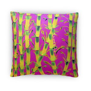 Sparkhawk Bamboo Throw Pillow