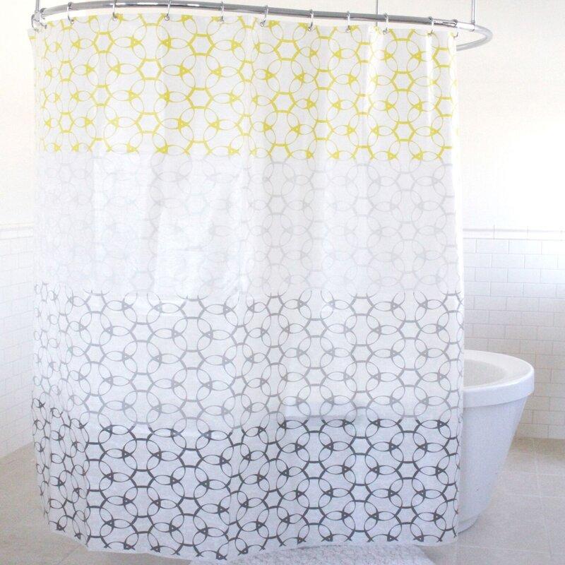 Lael PEVA Shower Curtain