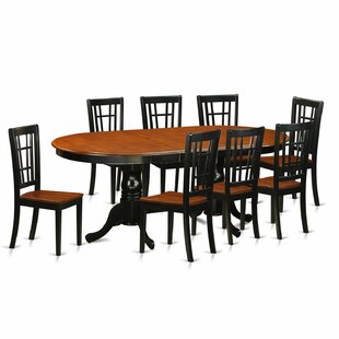 Pilcher Contemporary 9 Piece Dining Set August Grove