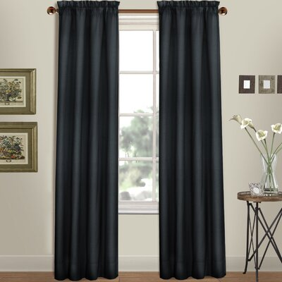 Westwood Solid Semi-Sheer Rod Pocket Curtain Panels United Curtain Co.