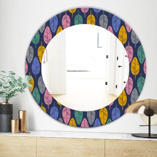 Feathers Wall Mirror