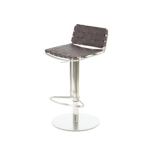 Tevin Adjustable Height Bar Stool Brayden Studio