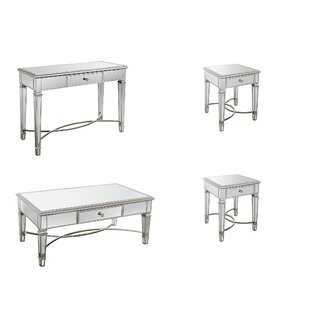 Andrea 4 Piece Coffee Table Set by Rosdorf Park