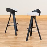 Heanor Low-Back Café 30 Bar Stool (Set of 2) by Wrought Studio™