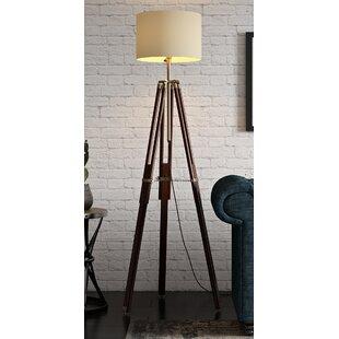 Wood Floor Lamps   Wayfair.co.uk
