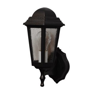 Best Reviews Flannigan 1-Light Outdoor Sconce By Charlton Home