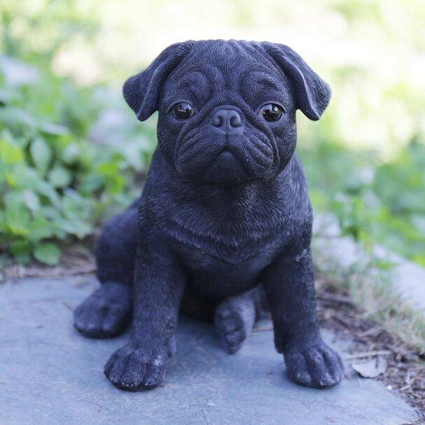 Pug Puppy Statue