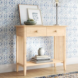 Lynn Wood Console Table