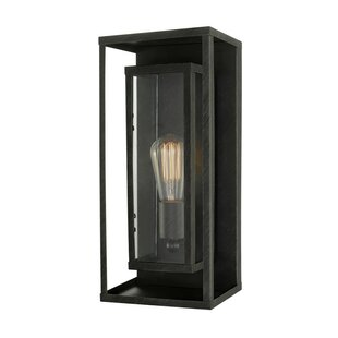 Compare Cowhill LED Outdoor Sconce By 17 Stories