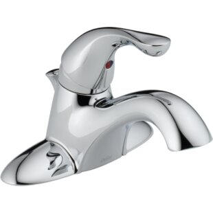 Clearance Centerset Lavatory Faucet with Pop-Up Drain ByDelta