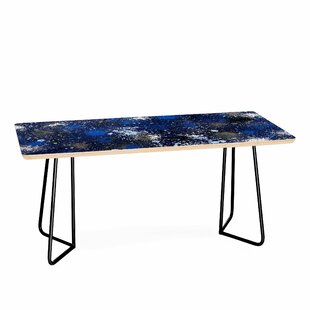 Nicola Design Ink Splatter Night Coffee Table