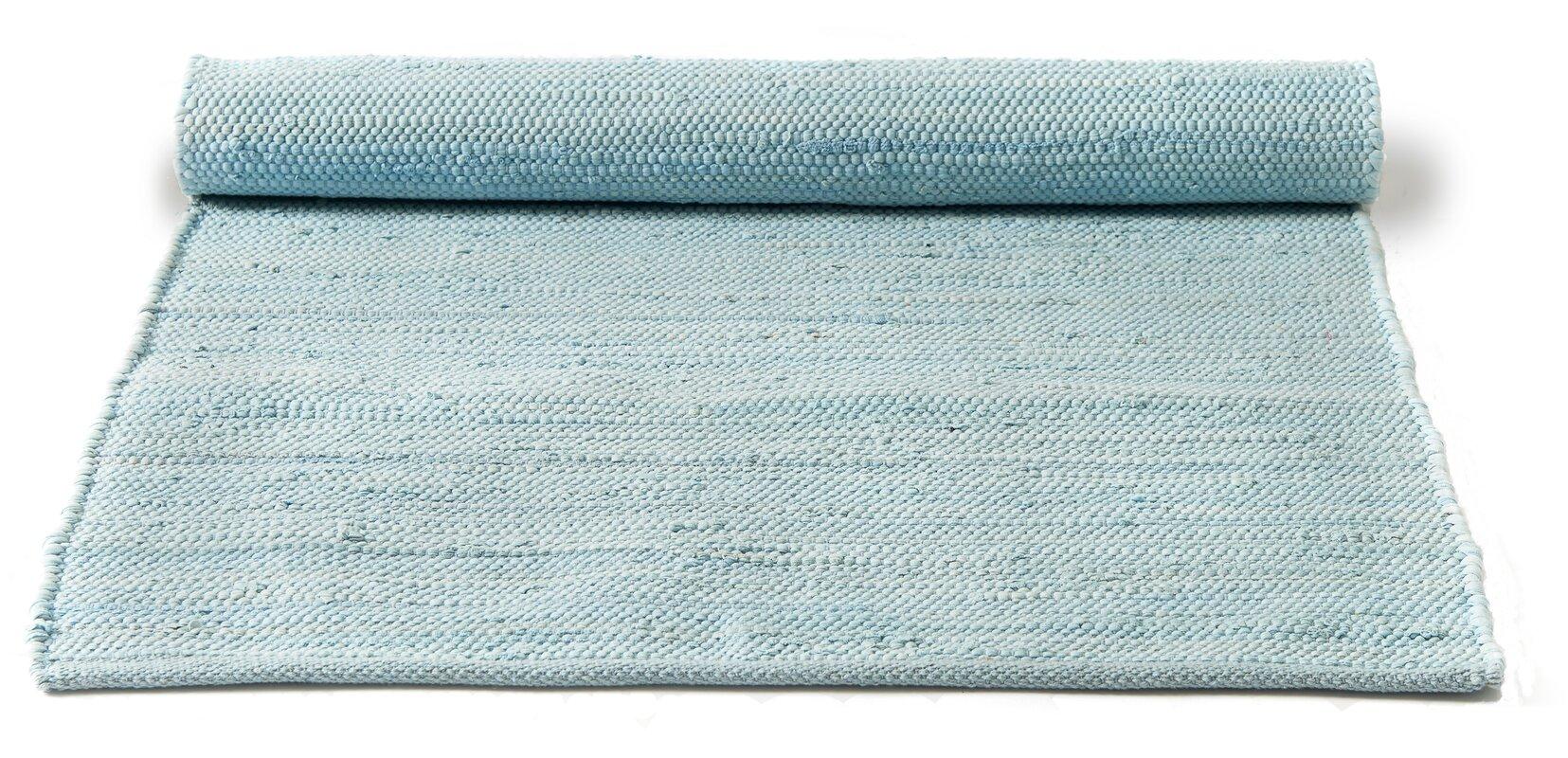 rug solid handgefertigter teppich aus baumwolle in daydream blau bewertungen. Black Bedroom Furniture Sets. Home Design Ideas