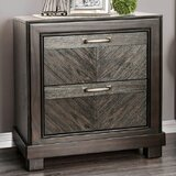 Theriot 2 Drawer Nightstand by Mercer41