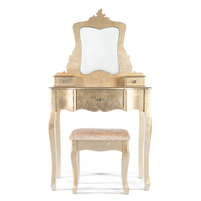 Astonishing Kayla Dressing Table Set With Mirror Ncnpc Chair Design For Home Ncnpcorg
