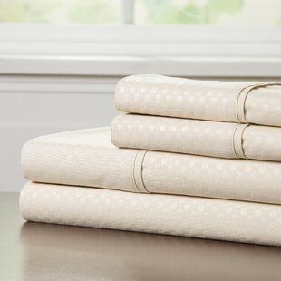90 GSM Embossed Sheet Set by Lavish Home Best