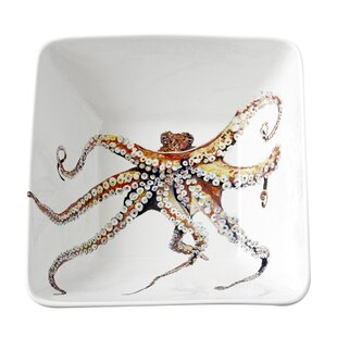 Out of the Octopus Serving Bowl by Kim Rody Creations