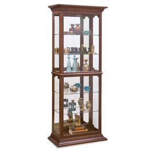 Fairfield II Lighted Curio Cabinet by Philip Reinisch Co.