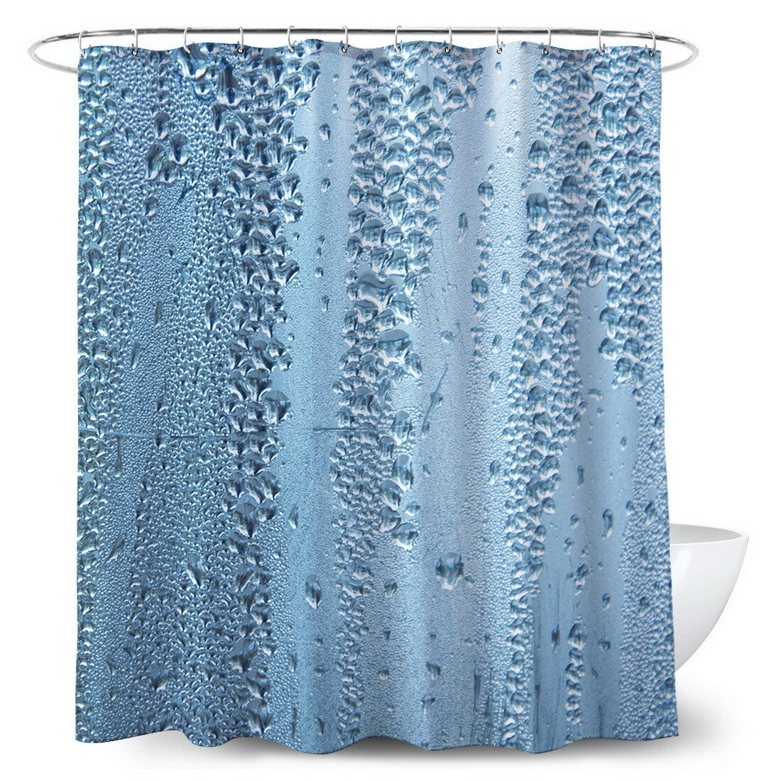 Rosecliff Heights Moana 13 Piece Shower Curtain Set Hooks Wayfair
