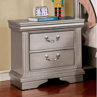 Margene 2 Drawer Nightstand by House of Hampton