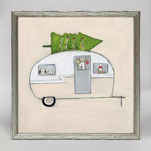 Jeannine Happy Camper Jeannine Mini Framed Art