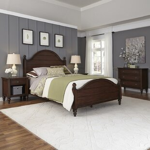 Pablo Panel 4 Piece Bedroom Set