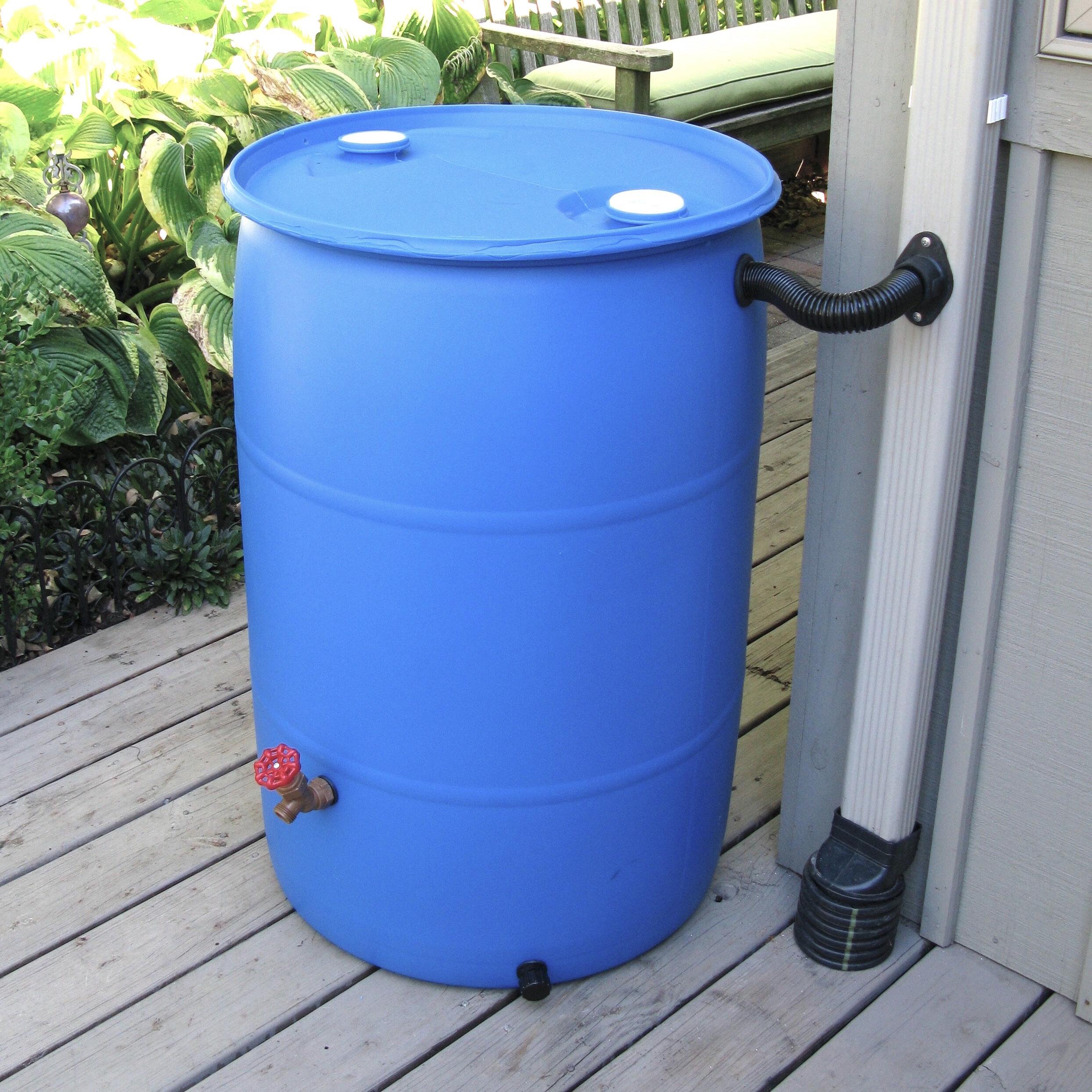 EarthMinded DIY Rain Barrel Diverter & Parts Kit & Reviews | Wayfair